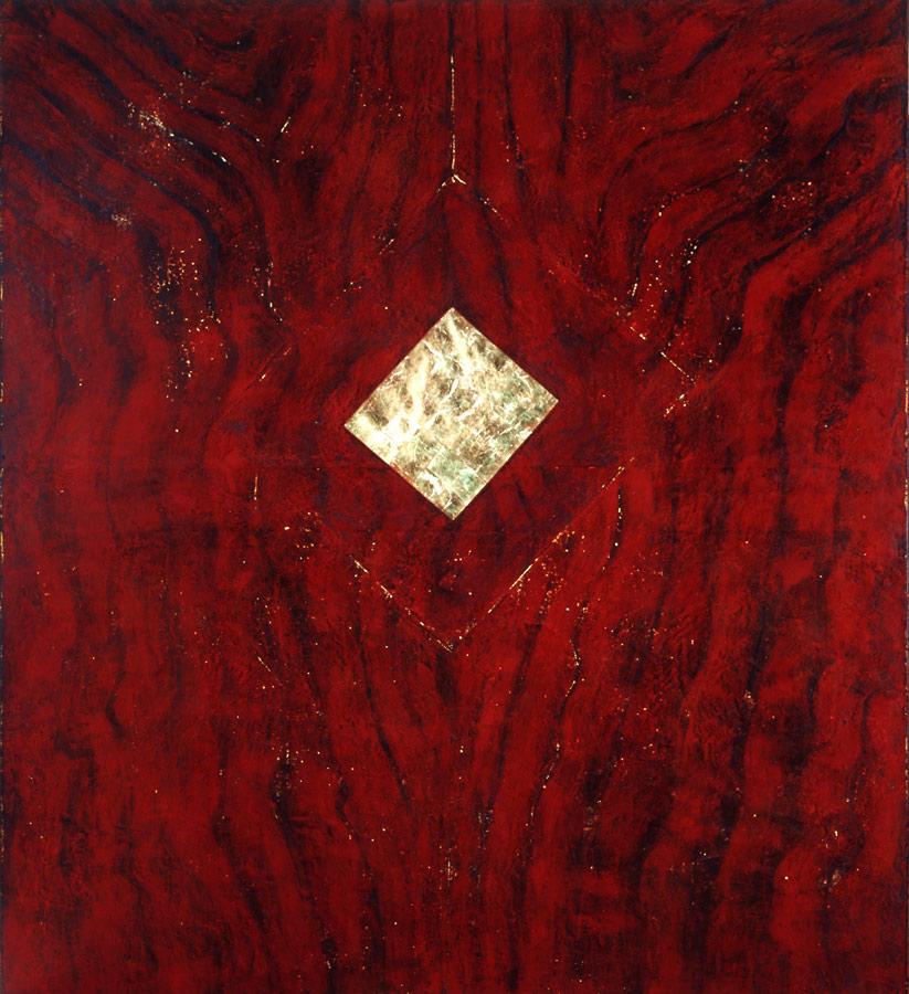 Apocalypsis cire, or, lumière (retro éclairé) 2,29 x 2,56 m