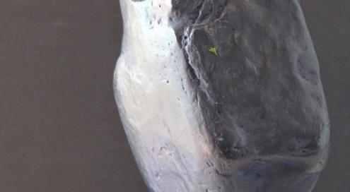 PIERRE DE NUIT, Acheiropoïete n°12, technique : pierre, silice, cire