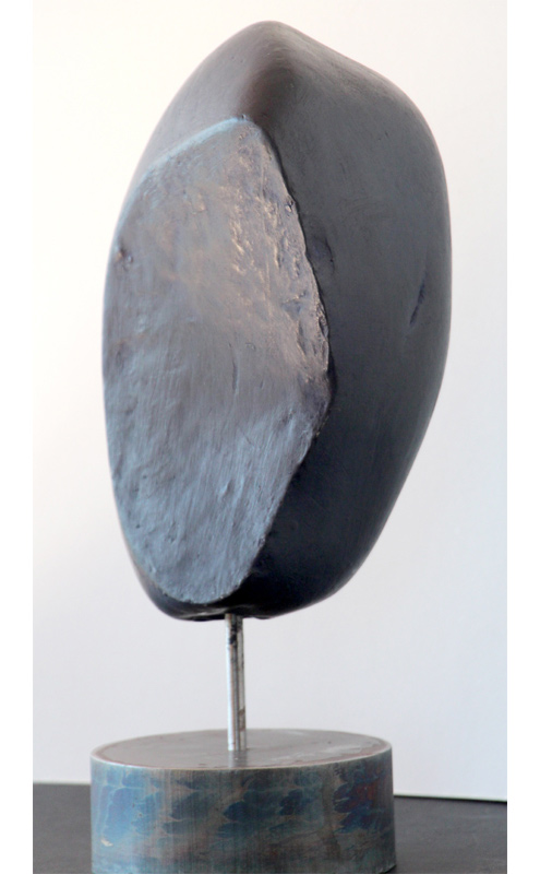 PIERRE DE NUIT Acheiropoïete n°13, technique : pierre, silice, cire