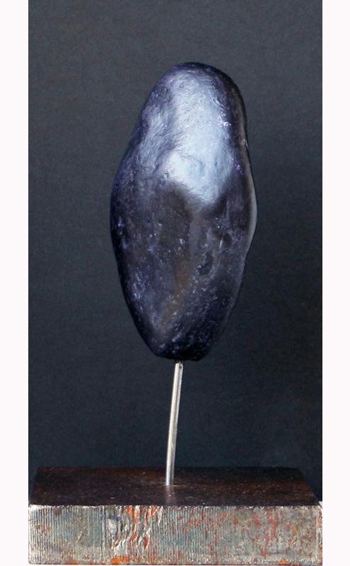 PIERRE DE NUIT Acheiropoïete n°14, technique : pierre, silice, cire