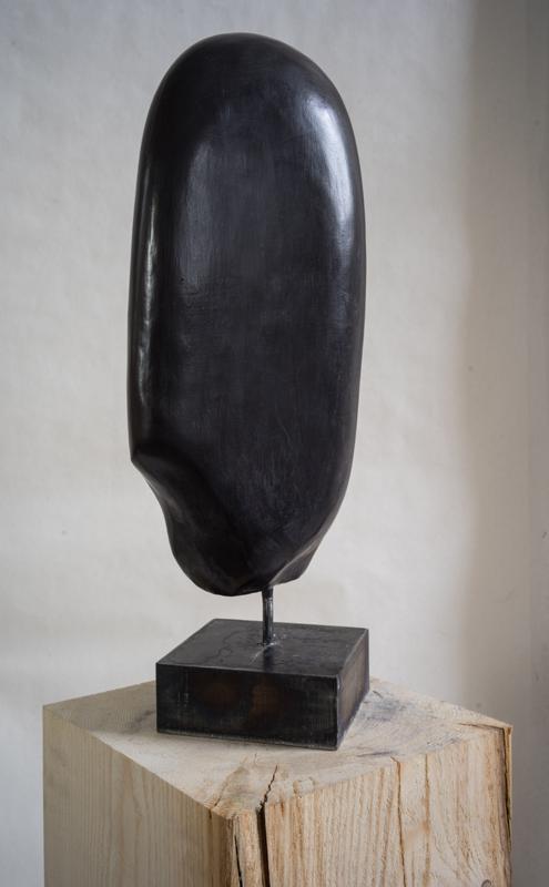 PIERRE DE NUIT Acheiropoïete n°4, technique : pierre silice et cire